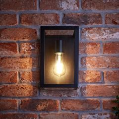 Biard Bonn IP54 Wandlamp - Zwart