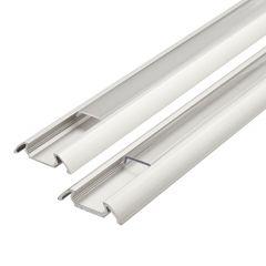 Biard 1 Meter Aluminium Slimline Profiel voor LED Stripverlichting - Doorzichtig of Mat