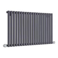 Revive Designradiator Elektrisch Horizontaal Antraciet 63,5cm x 118cm x 5,6cm