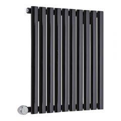 Revive Designradiator Elektrisch Horizontaal Zwart 63,5cm x 160cm x 5,5cm