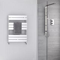 Lustro Verchroomd Handdoekradiator Staal Chroom 80cm x 60cm x 4,5cm 309Watt