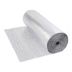 Dubbelzijdige Aluminium Isolerende  Dubbellaagse Noppenfolie - 25m x 1,2m