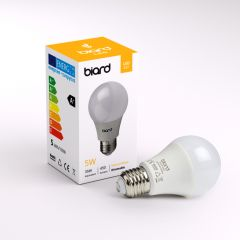 Biard 6 x LED Gloeilampen 5W E27 Dimbaar