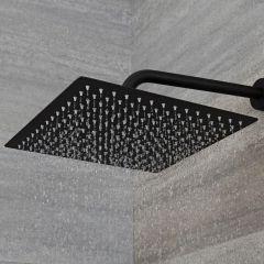 Nox Douchekop 30 x 30cm Vierkant Zwart
