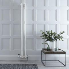 Windsor Designradiator Verticaal Klassiek Wit 180cm x 20,3cm x 10cm 779 Watt