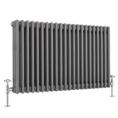 Windsor 3-Kolomradiator Horizontaal Gelakt Metaal  60cm x 101,3cm x 10cm 1608Watt