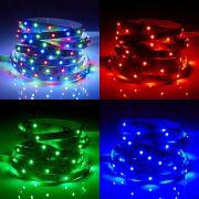 IP20 Led 3528 Strip Verlichting - 5 Meter - Rood, Groen, Blauw - Binnenverlichting