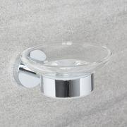 Prise Zeephouder - Helder Glas & Chroom