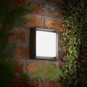 Turin 9W LED Wandlamp Buiten IP65 - Verkrijgbaar in Antraciet & Zwart