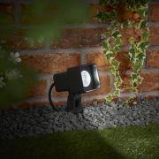 Architect 9W LED Prikspot Buiten IP65 - Verkijgbaar in Antraciet & Zwart
