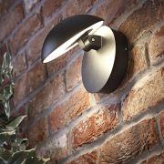 Piombino Verstelbare Led 13W IP54 Wandlamp - Zwart