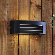 Architect Griglia Wandlamp Buiten Zwart  E27 / IP54