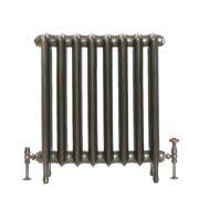 Gietijzeren Radiator Antiek Messing 76cm Hoog | Kies de Breedte | Erté