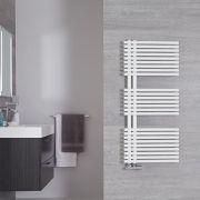 Iseo  Designer Handdoekradiator Mineraal Wit 112cm x 50cm 734Watt