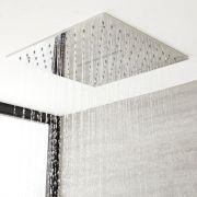 Trenton Verzonken Plafond Douchekop Met Waterval Chroom 40 x 40cm