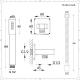 Aldwick 3-weg Thermostaatkraan meyt Omstel Douchekop d.20cm & Handdouche & Bodyjets - Geborsteld Nikkel