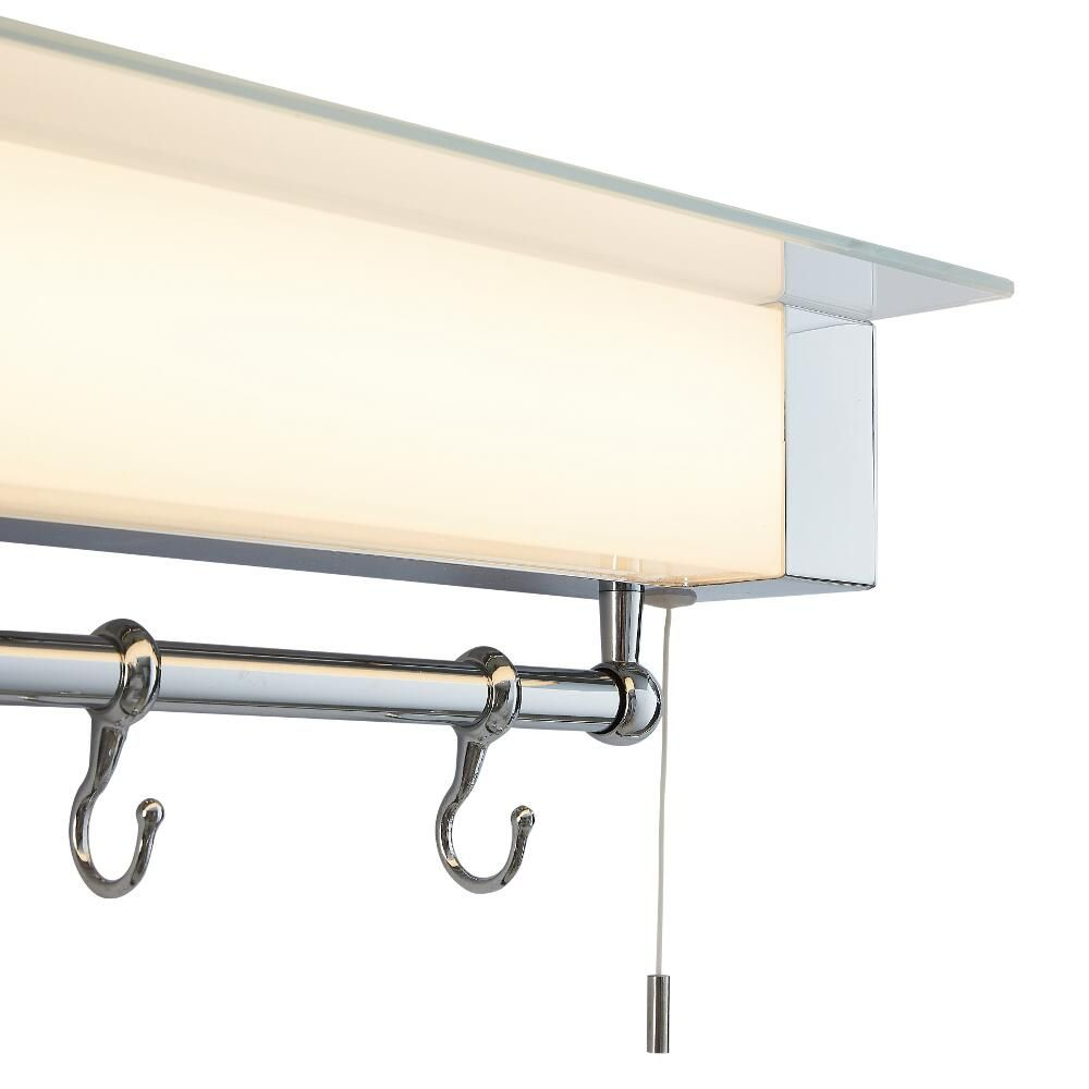 Wandplank Met Lamp.Achen Led Badkamer Wandplank Met Led Lamp Ip44