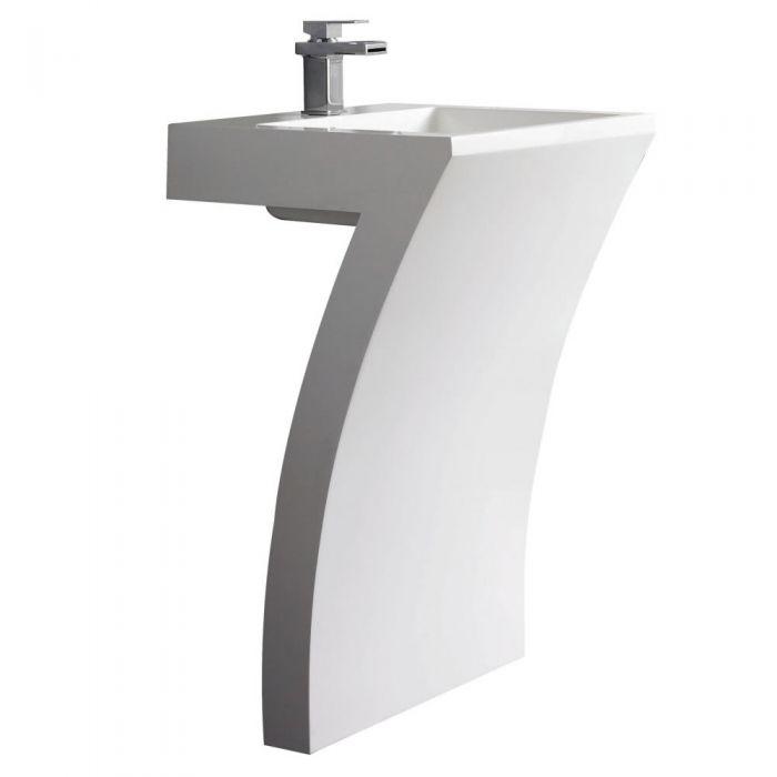 SEVEN Wastafel - 83,5 x 58 x 46,7cm