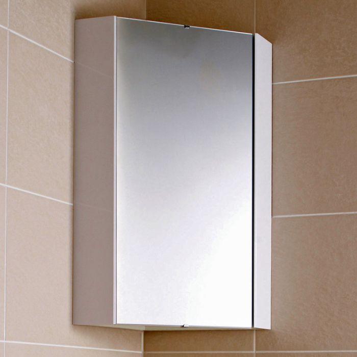 Hoekspiegelkast met Spiegel 65 x 45,9 x 29,5cm