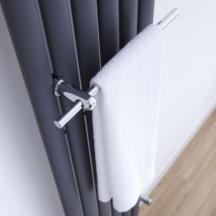 Handdoekrek Radiator geschikt voor Revive & Delta Design Radiatoren - 35cm - Chroom