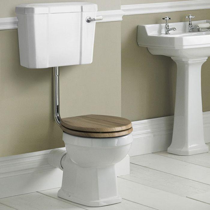 Richmond toilet met laag Reservoir en keuze uit verschillende toiletzitting