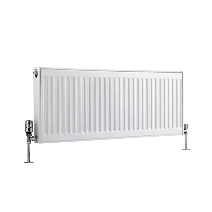 Basic Paneelradiator T 21 Horizontaal Wit 40cm x 100cm x 7,3cm 956 Watt