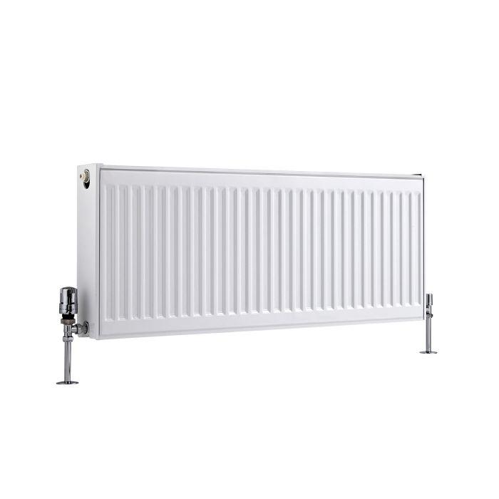 Basic Paneelradiator T 21 Horizontaal Wit 40cm x 100cm x 10,3cm 1155 Watt