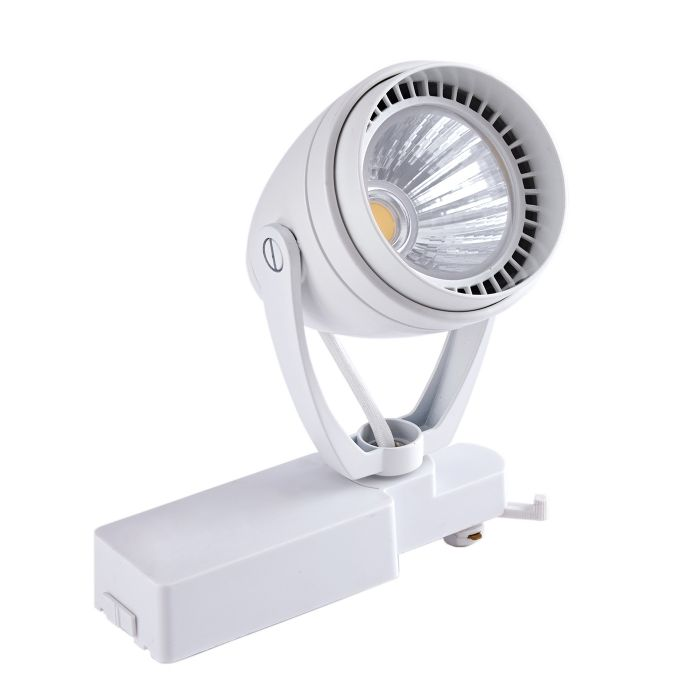 12W Led Railspot - Wit