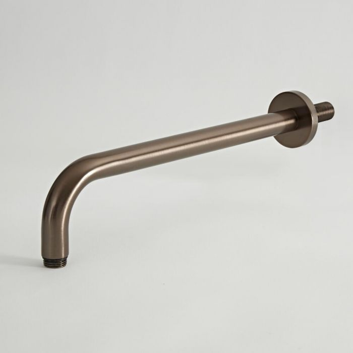 Douchearm Muurbevestigd 34,2cm Olie Gewreven Brons | Elizabeth