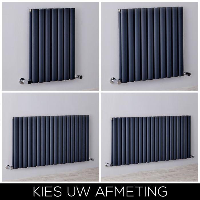 Designradiator Horizontaal 60cm Aluminium Antraciet | Kies de Afmeting | Revive Air
