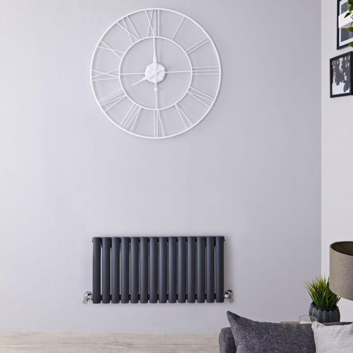 Revive Design Radiator Horizontaal Antraciet 40cm x 83,4cm x 5,6cm 569Watt