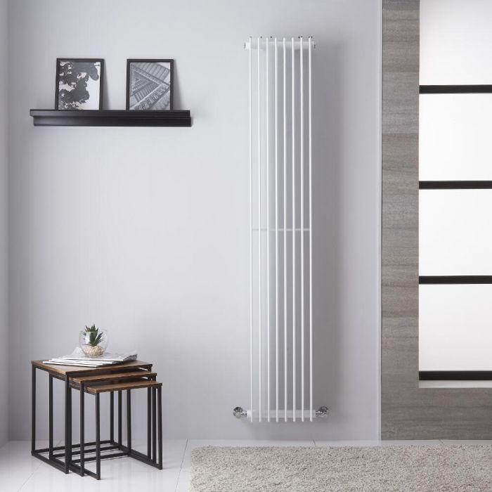 Roma Designradiator Verticaal Wit 180cm x 32,5cm 1039Watt