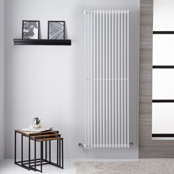 Roma Designradiator Verticaal Wit 180cm x 60,5cm 1947Watt