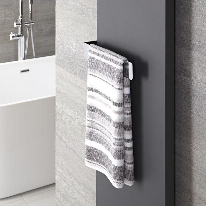 Verchroomd Messing Handdoekrek - 6 x 32 x 12,5 cm