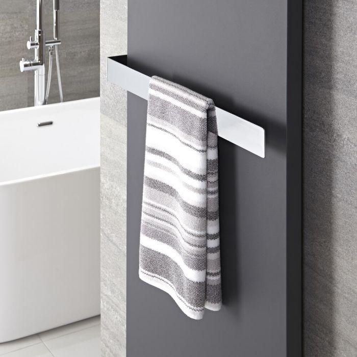 Verchroomd Staal Handdoekrek - 6 x 62 x 12,5 cm