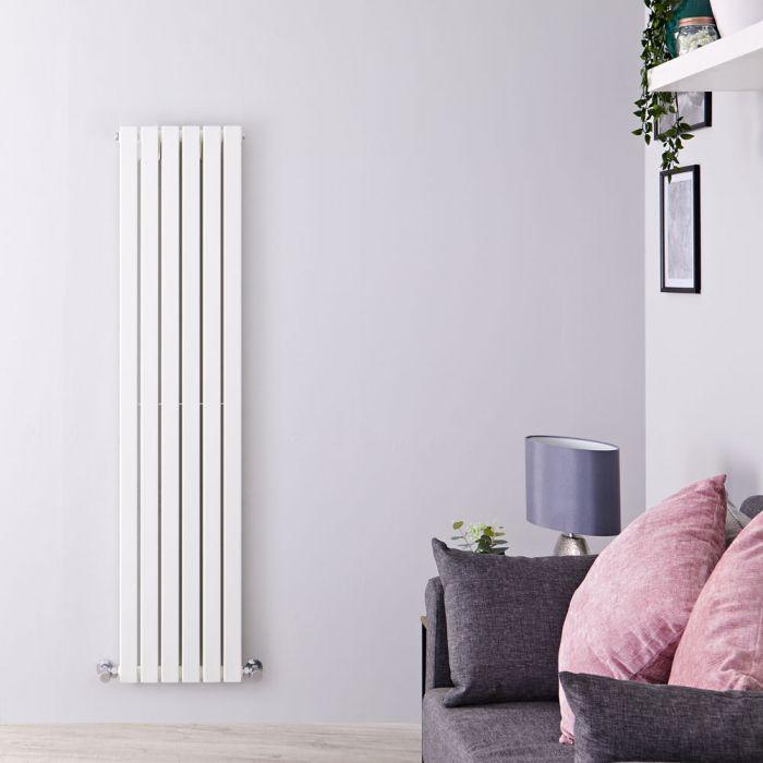 Sloane Designradiator Verticaal Wit 160cm x 35,4cm x 7,2cm 1193 Watt