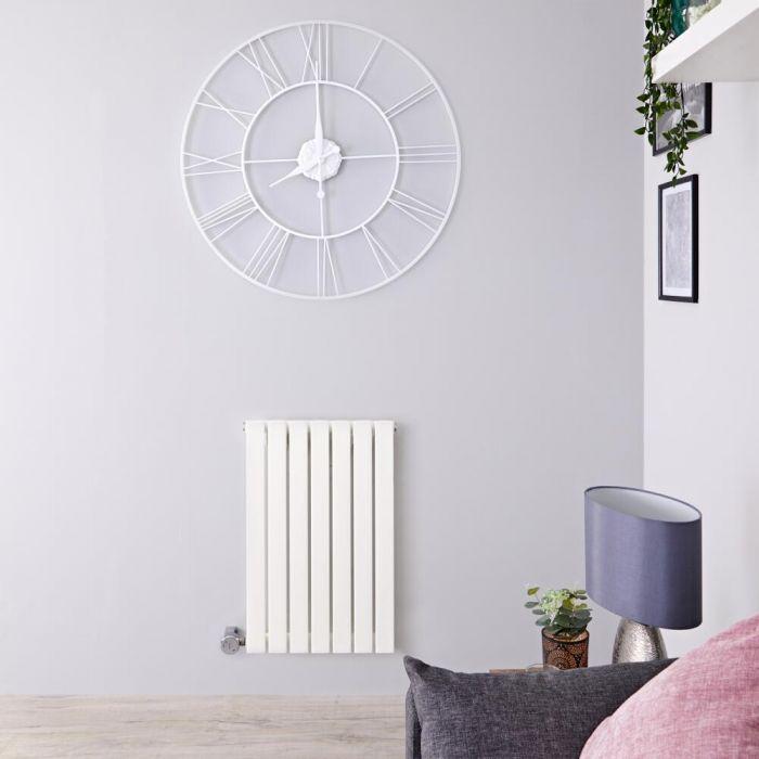 Designradiator Elektrisch Thermostatisch Horizontaal Wit 63,5cm x 42cm   Sloane