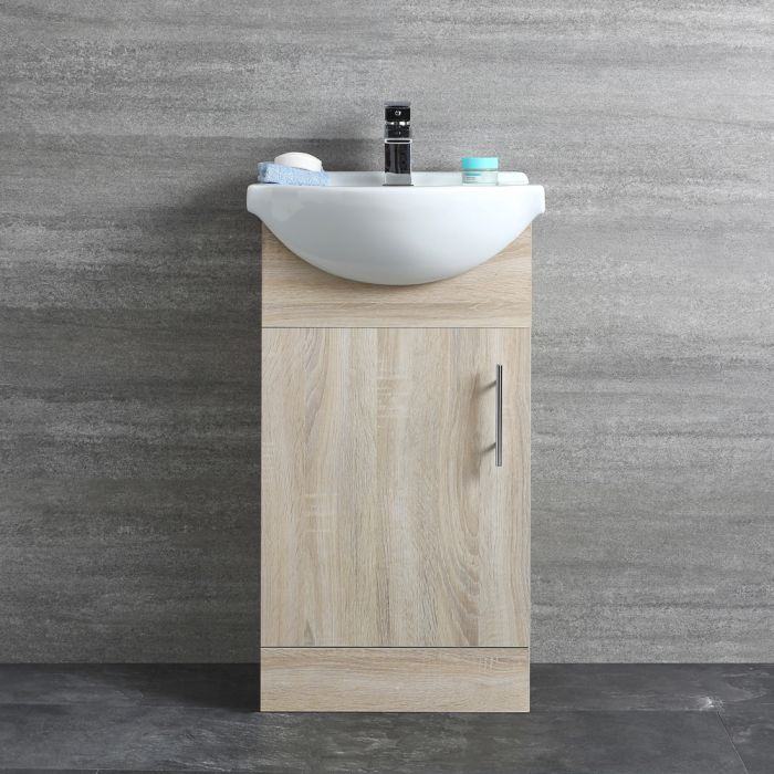 Toiletmeubel Eikenhout Effect 45cm | Classic Oak