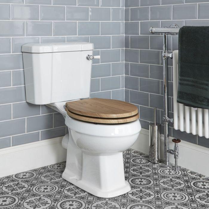 Duoblok Toilet Keramisch Klassiek Wit met Stortbak | Keuze WC-Bril | Richmond