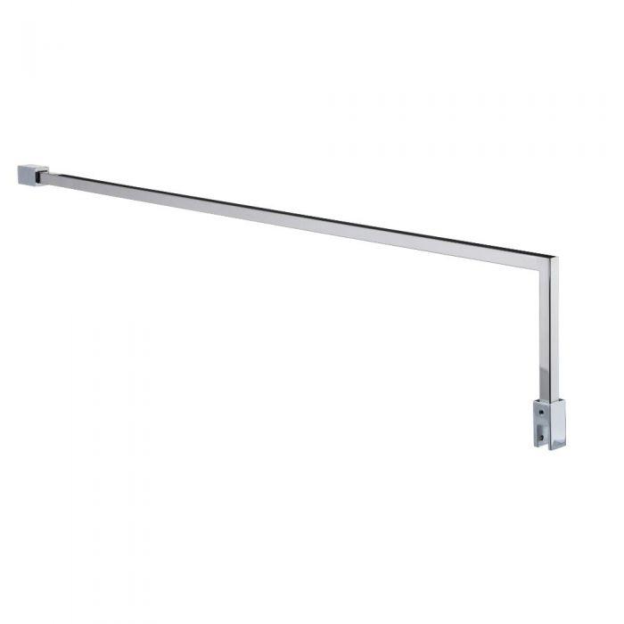 L-vormige Stabilisatiestang voor Douchewand - 100cm