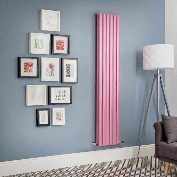 Designradiator Verticaal Roze | Kies de Afmeting | Revive