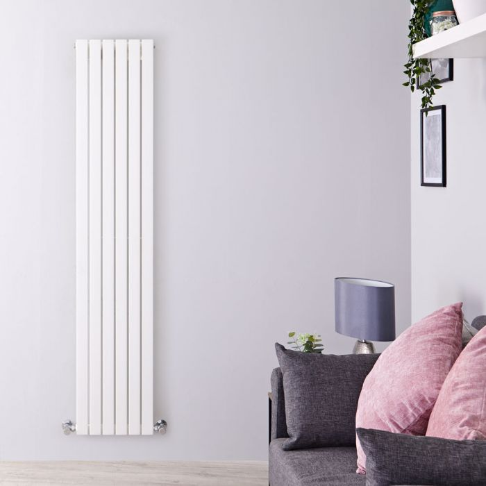 Sloane Designradiator Verticaal Wit 178cm x 35,4cm x 5,3cm 897 Watt
