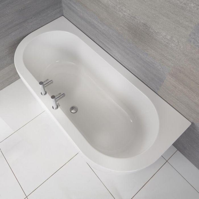 Acryl Bad inclusief Badpaneel - 170cm x 80cm x 53,5cm