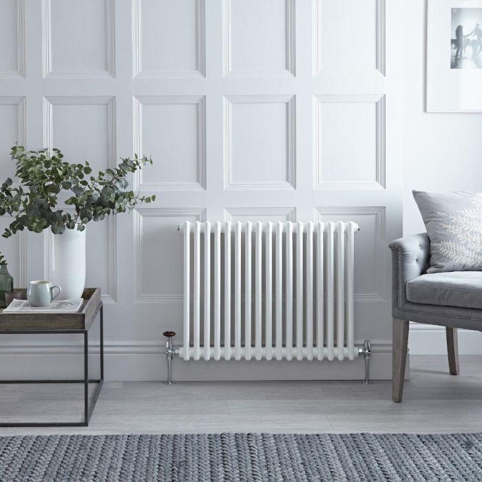 Designradiator Horizontaal Wit Staal 60 x 78,5cm 965 Watt | Windsor