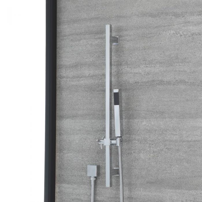 Moderne Tec glijstanguitrusting met handdouche