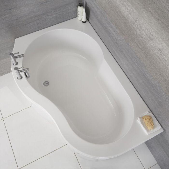 Acryl Hoekbad - linker uitvoering - 150cm x 85cm x 100cm