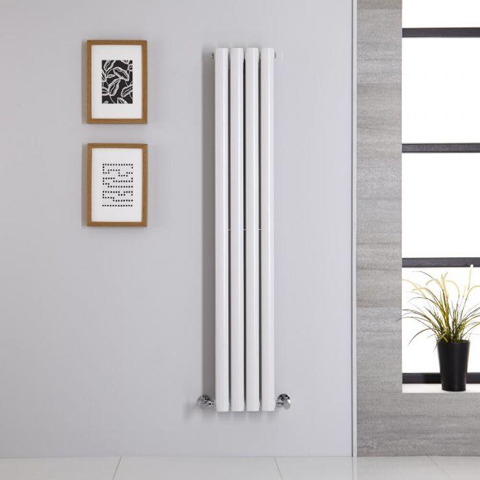 Revive Designradiator Verticaal Wit 140cm x 23,6cm x 7,8cm 696 Watt