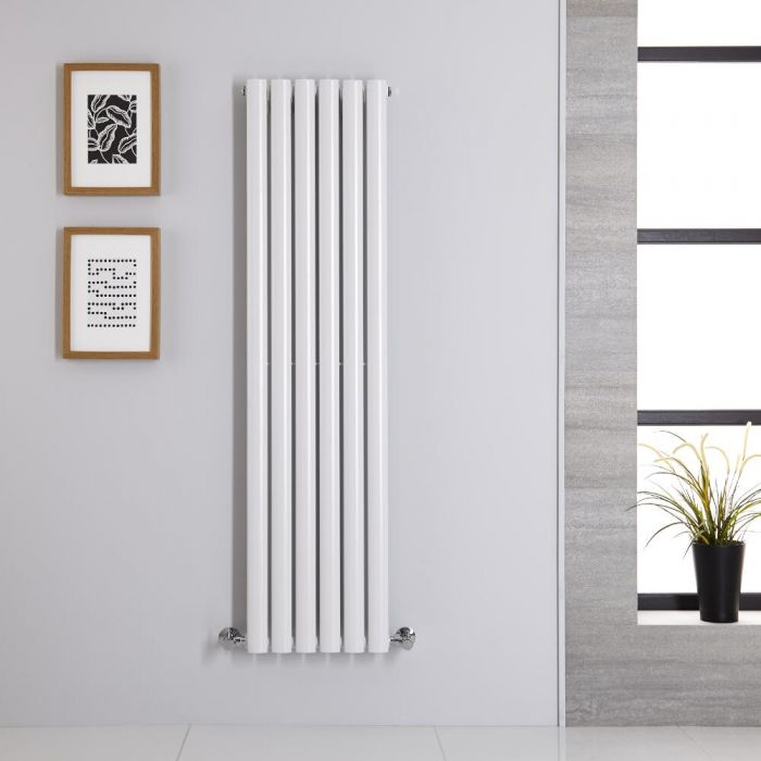 Revive Designradiator Verticaal Wit 140cm x 35,4cm x 5,6cm 686 Watt