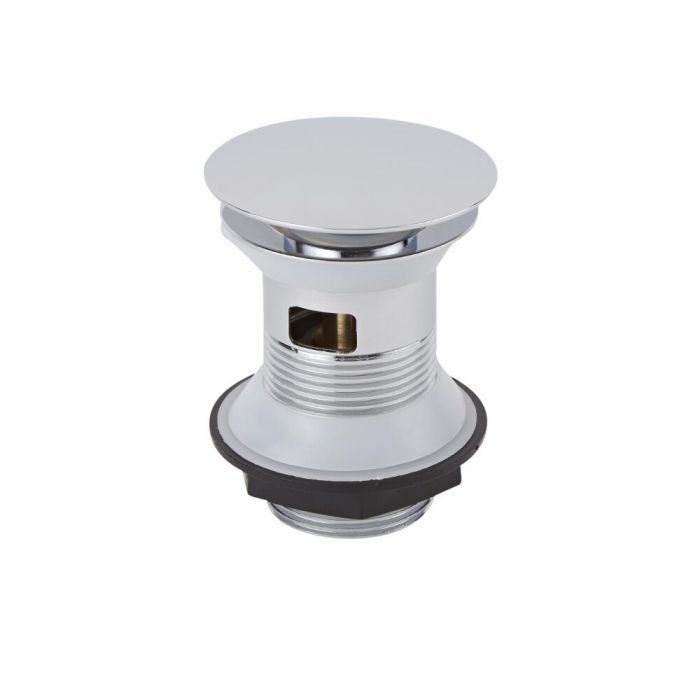 Drukknop Wastafel Afvoerplug (voor wastafels met overloop)