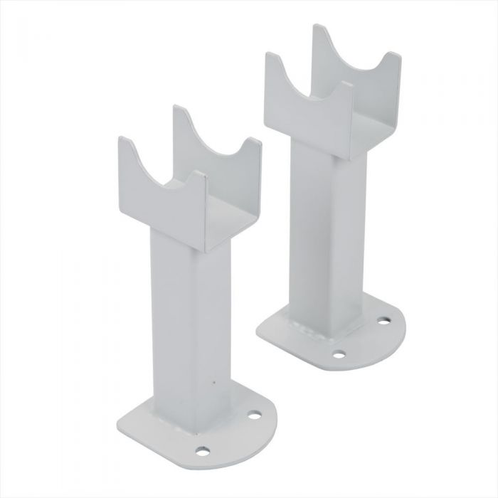 Radiator Voetjes Geschikt voor Parallel Design Radiatoren - Wit